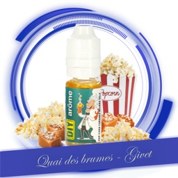 POP CORN CARAMEL BEURRE SALE 10ML